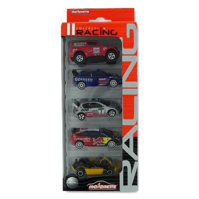 Voitures - Collection Racing : Lot de 5 coffret 1