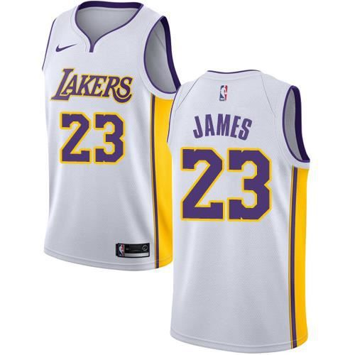 Maillot Lakers Lebron James 23 2018/19 BLANC