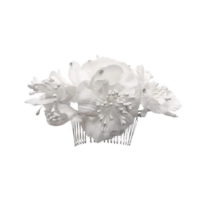1 pc mariée cheveux peigne Floral Costume accessoires fête coiffure mariage TATOUAGES - BIJOUX DE CORPS - BIJOUX DE CHEVEUX