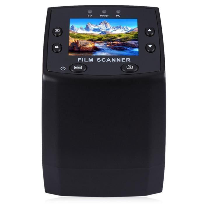 5Mp 35mm Négatif Slide Viewer Film Scanner Usb Numérique Couleur Monochrome Négatifs Diapositives Photo Copieur
