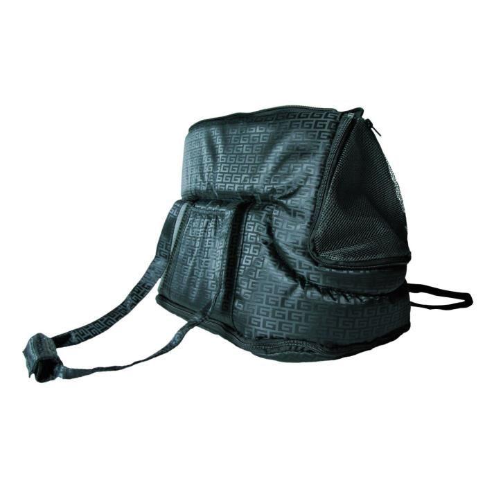 TRIXIE Sac Riva, 26 × 30 × 45 cm, noir pour chien