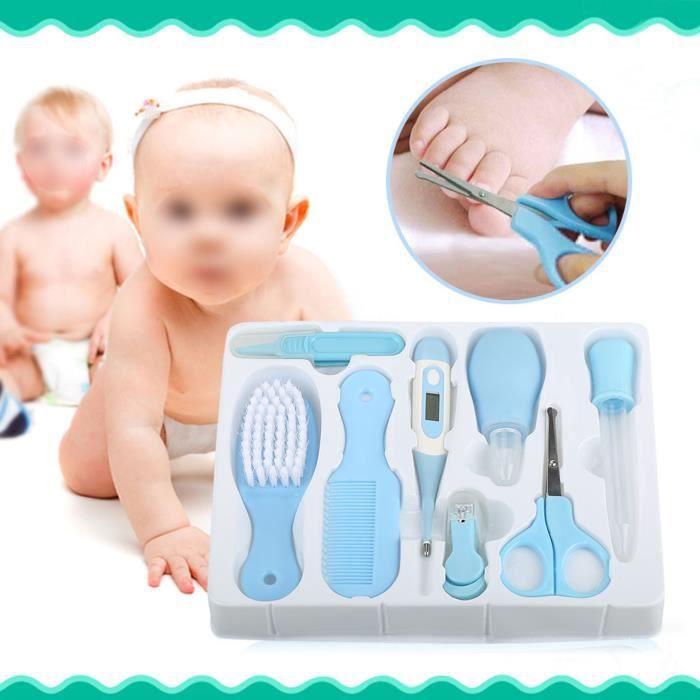 Kit de Trousse de Soin et Santé Pour Bébé Essentiel de Toilette HB023 -SHW