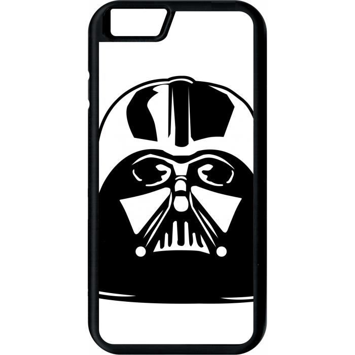 coque apple iphone 6 star wars casque dark vador