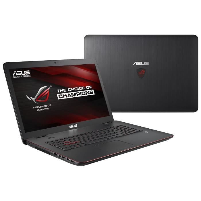 asus pc portable gamer reconditionn g741jm t4046h cran 17 3 garantie 6 mois prix pas cher. Black Bedroom Furniture Sets. Home Design Ideas