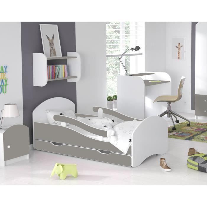 LIT COMPLET LIT ENFANT Dreams 70x140cm, AVEC MATELAS & BARRE D