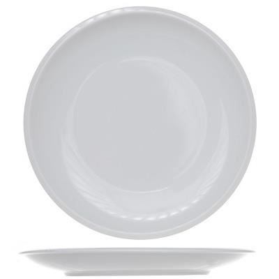 assiette plate ronde blanche achat vente service complet cdiscount. Black Bedroom Furniture Sets. Home Design Ideas
