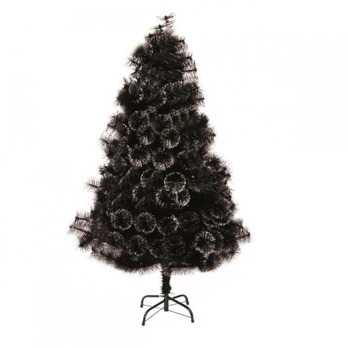 sapin de no l 180 cm noir paillettes achat vente sapin. Black Bedroom Furniture Sets. Home Design Ideas