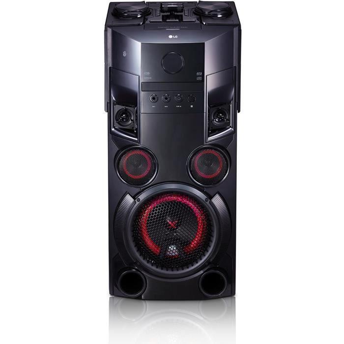 CHAINE HI-FI LG OM5560 Mini chaîne High Power Multi Bluetooth -