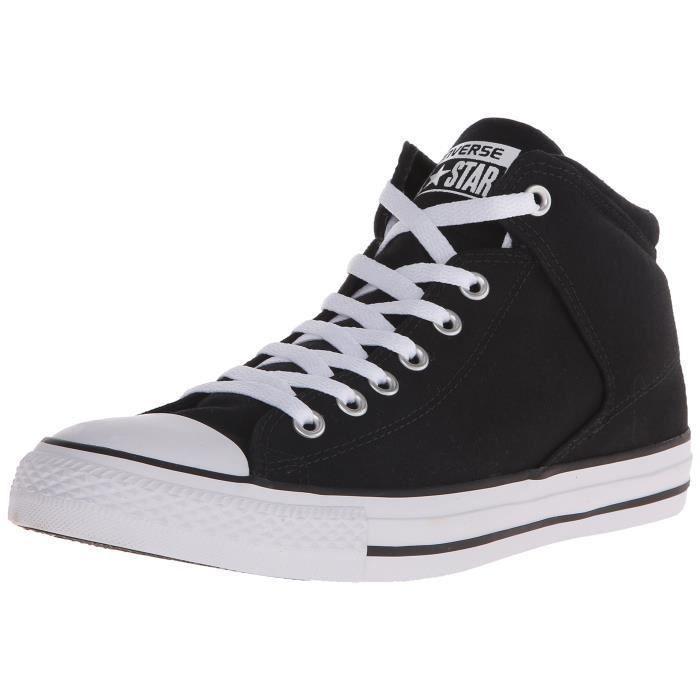 chaussure converse noir haut taille 36