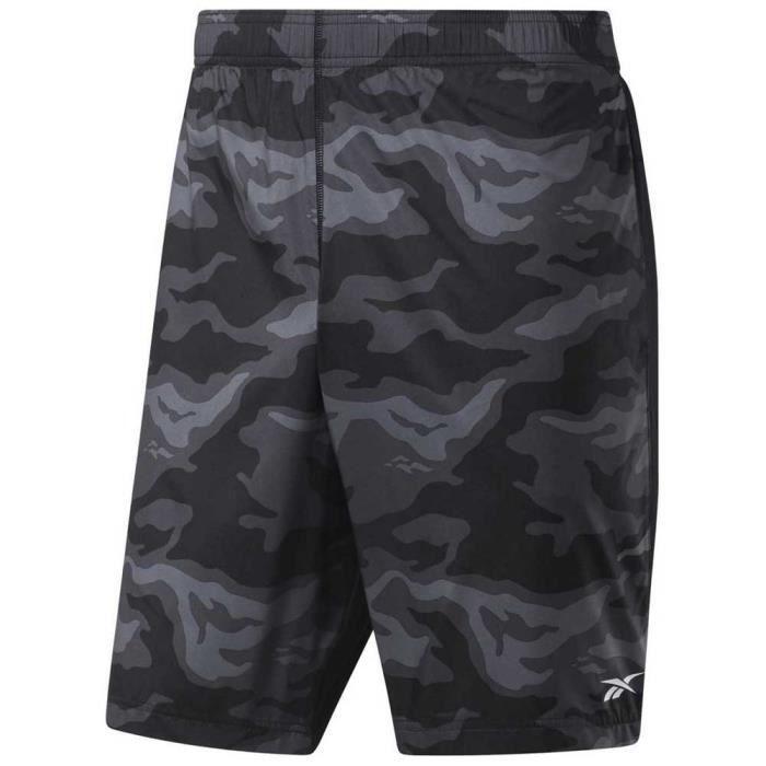Reebok Workout prêt pour Homme Pantalons de Sport-Noir