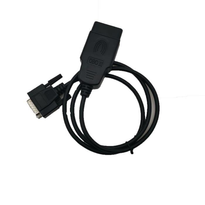 Car 16 Pin OBD2 OBDII Male To Dual Female Y-Splitter Adaptateur C/âble dextension outil de diagnostic