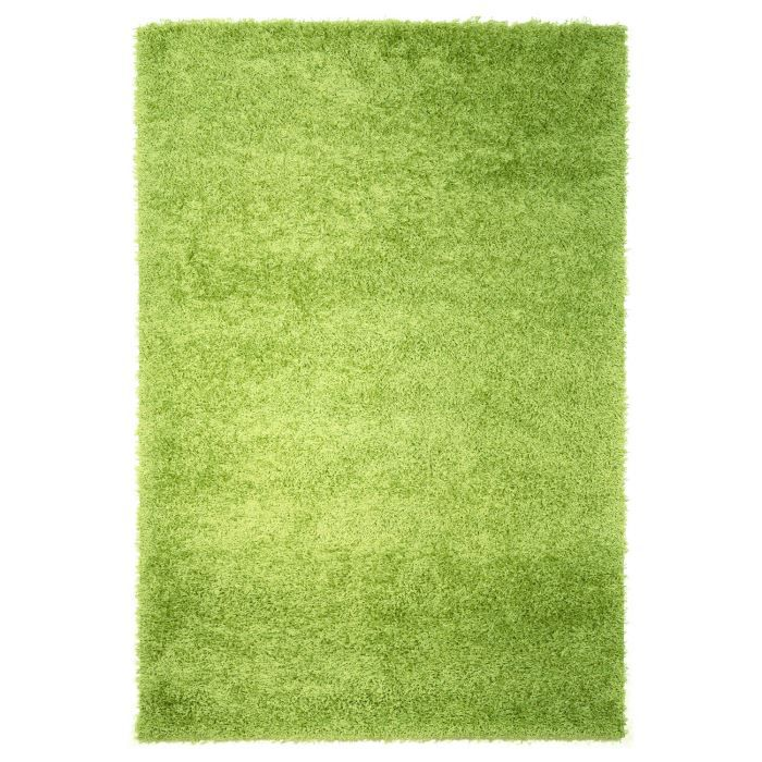tapis salon toronto shaggy vert prairie univers achat vente tapis cdiscount. Black Bedroom Furniture Sets. Home Design Ideas