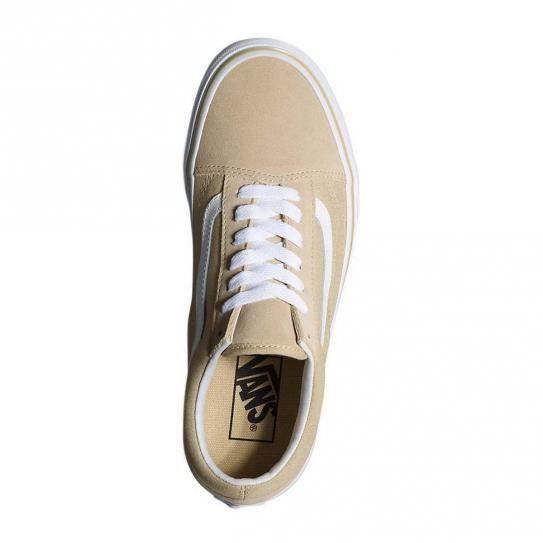 Chaussures Old Skool Pale Khaki W e17 - Vans