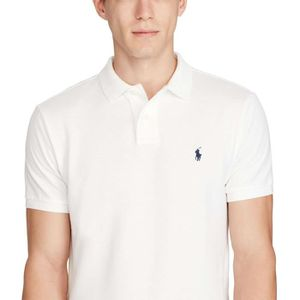 Polo blanc homme - Achat   Vente Polo blanc Homme pas cher - Cdiscount 2d05ac23581b