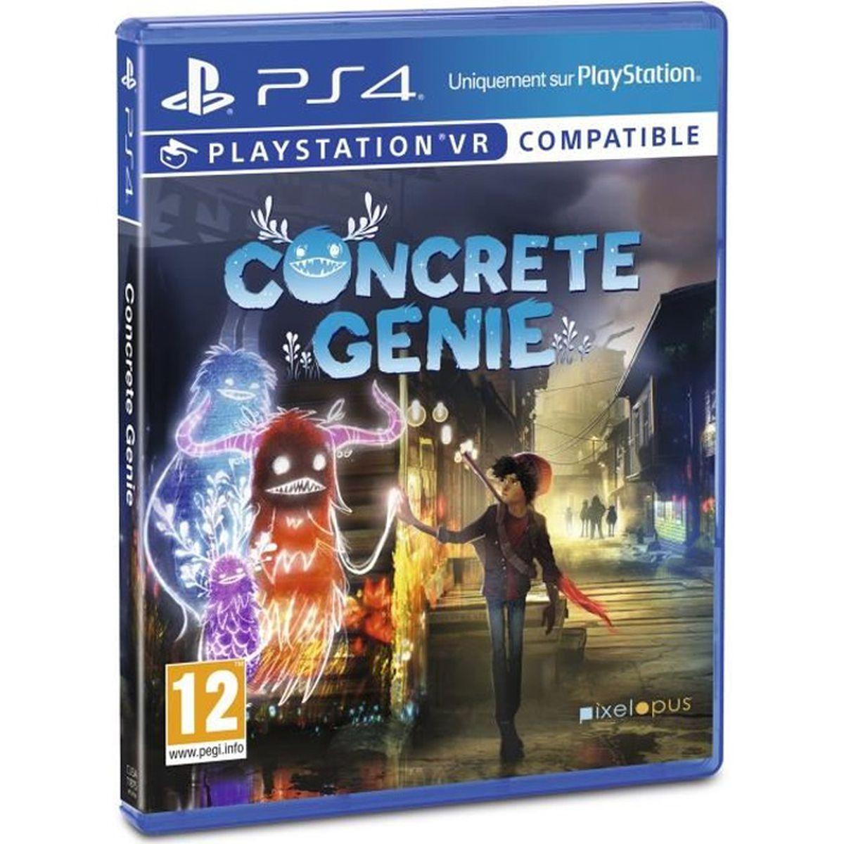 JEU PS4 Concrete Genie Jeu PS4/VR