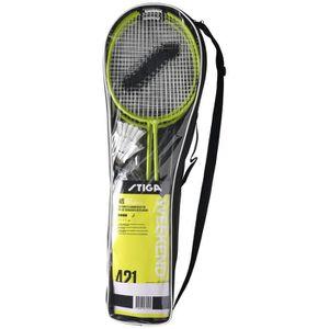 KIT BADMINTON STIGA Set de badminton Weekend Ws - Vert et noir