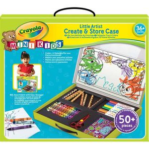 CRAYOLA MINI KIDS Ma 1?re Malette De Coloriage
