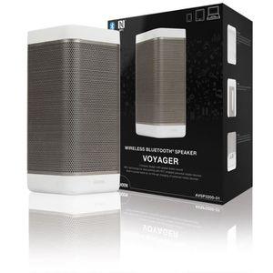 ENCEINTE NOMADE Haut-parleur Bluetooth sans fil blanc