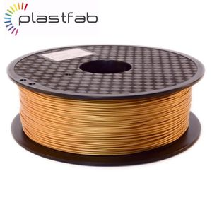 FIL POUR IMPRIMANTE 3D Plastfab - Filament 3D PLA Or 1 kg 1.75 mm - Quali