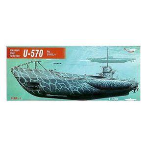 MAQUETTE DE BATEAU U-boot U-570 type U-VIIC (sous-marin)
