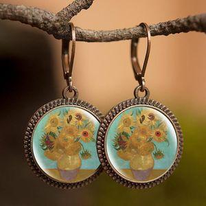 Boucles doreilles Gustav Klimt pour m/ère et enfant