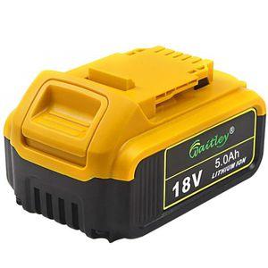 BATTERIE MACHINE OUTIL IMaxPower 18V 5.0Ah Batterie Compatible avec DeWal