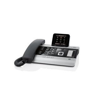 Téléphone fixe Gigaset DX800A, Téléphone DECT, Haut-parleur, 1000