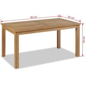 Table dappoint Tidyard Table Basse Bois Table de Salon Bois ...