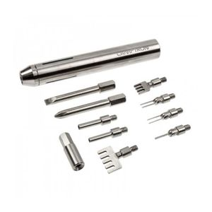 RACK - BAIES  Kit d'outils de modding Lamptron Deluxe - argenté