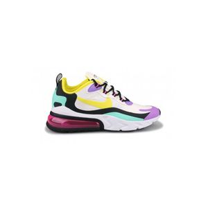 BASKET MULTISPORT Basket Wmns Nike Air Max 270 React Blanc At6174-10