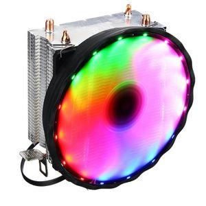 VENTILATION  CHARATERL Ventilateur Processeur RGB CPU 120mm 2 c