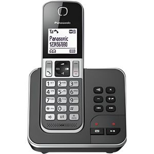 Téléphone fixe Panasonic KX-TGD320FRG Solo Téléphone Sans Fil Rép