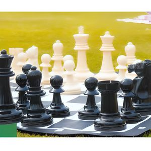 JEU SOCIÉTÉ - PLATEAU Jeu d'échecs de jardin géant
