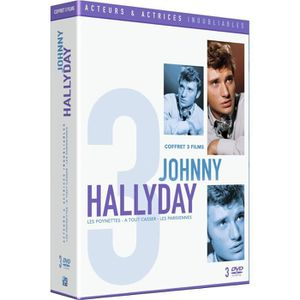 DVD FILM Coffret de film Inoubliable Johny Hallyday - En DV
