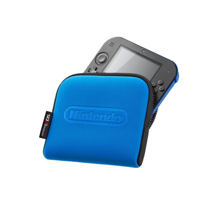 Pochette de transport nintendo 2ds bleue achat vente for Housse 2ds pokemon
