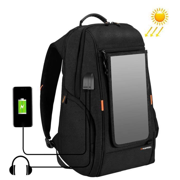 Sac à dos de chargement extérieur avec port USB Sac de voyage respirant imperméable Sac à dos antivol résistant à l'usur_Regisi