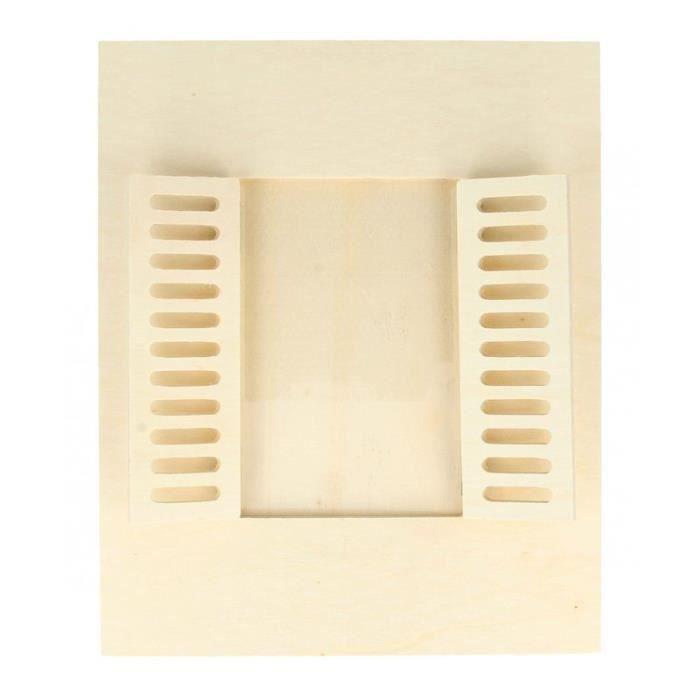 Cadre à photo bois 18 x 22 cm - Fenêtre