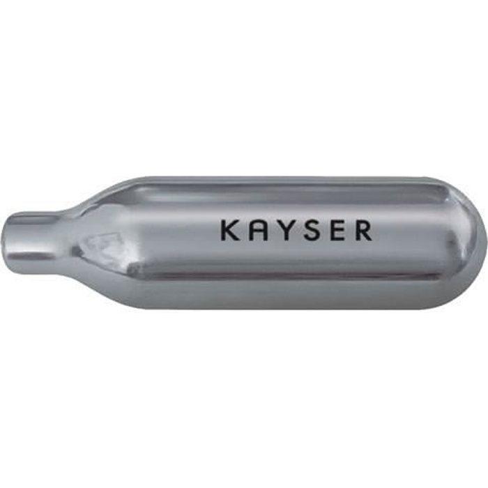 KAYSER 7115120 10 Cartouches pour siphon à chantilly