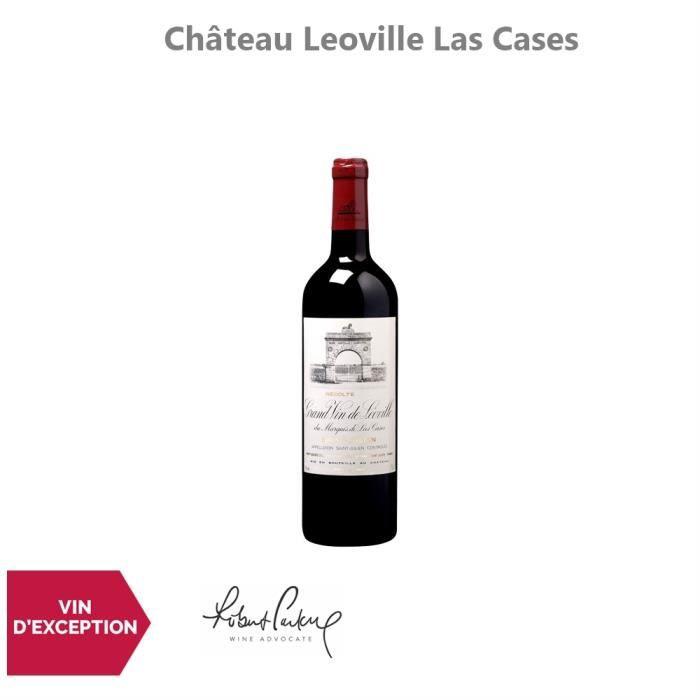 Château Leoville Las Cases Rouge 2015 - 75cl - Appellation AOC Saint-Julien - Vin Rouge de Bordeaux - 17.5-20 Jancis Robinson -