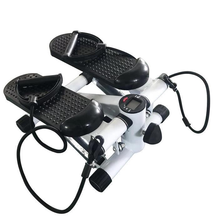WISS Mini Stepper avec Compteur - Entraînement aérobic - Appareil pour jambes,hanches,fesses
