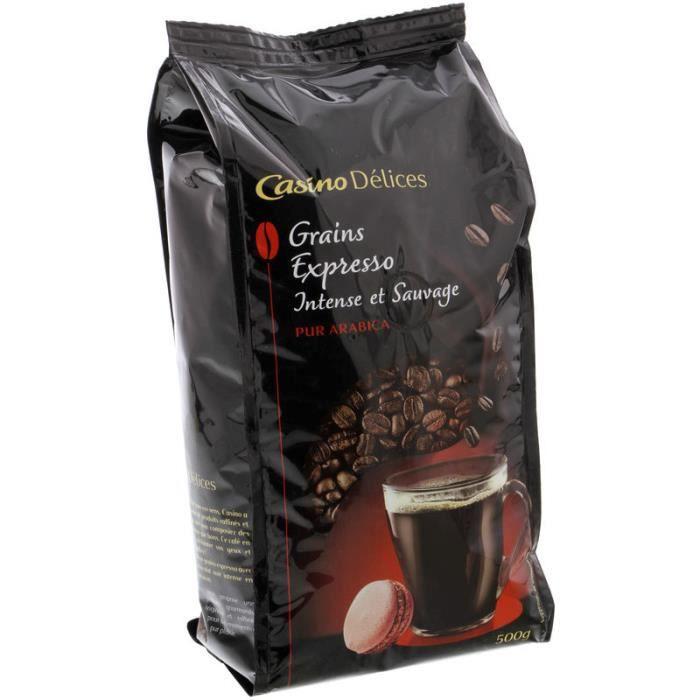 CASINO Café en grain Expresso - 500 g