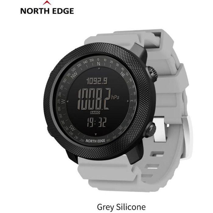 H North Edge APACHE Sports Smartwatch étanche 50 m natation altimètre baromètre boussole escalade militaire montre intelligente La