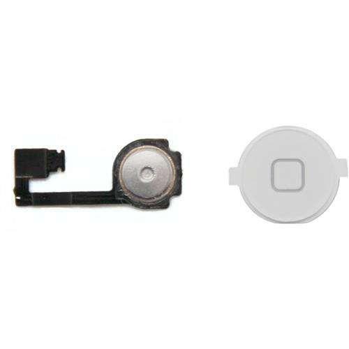 Accessoires pour mobile iPhone 4 - Bouton 'Home' Blanc