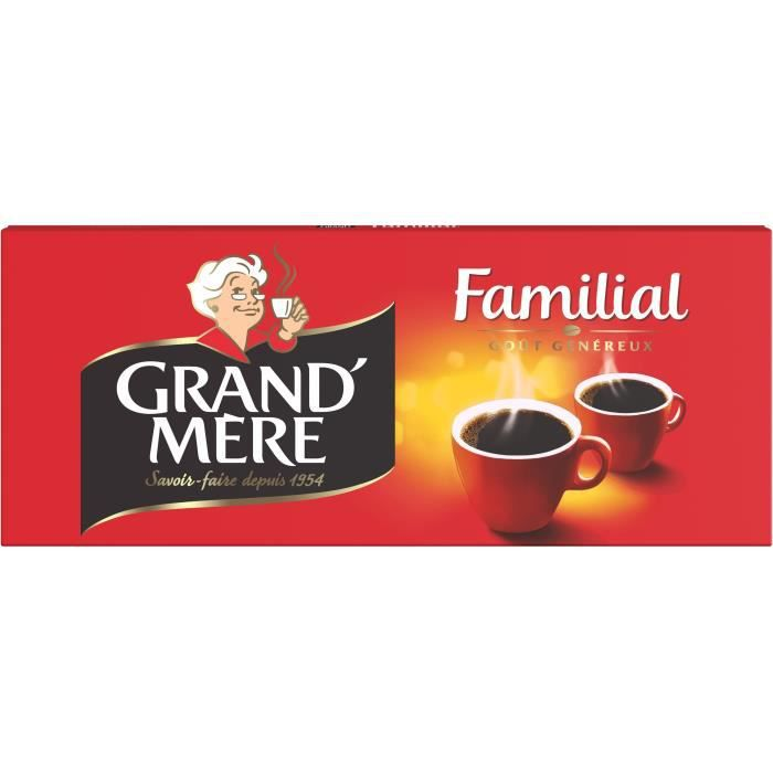 GRAND'MERE Café moulu Familial - 1 kg