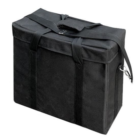 BRESSER Sac de transport pour 3 flashs de studio