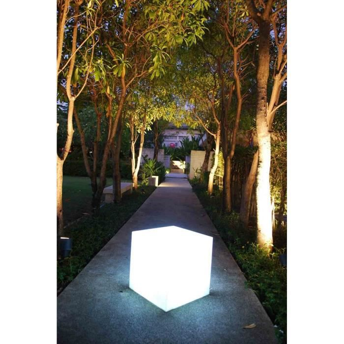 LUMISKY Cube lumineux 40cm - Blanche