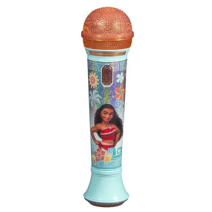 VAIANA Micro Karaoké - Effets sonores et lumineux pour enfant
