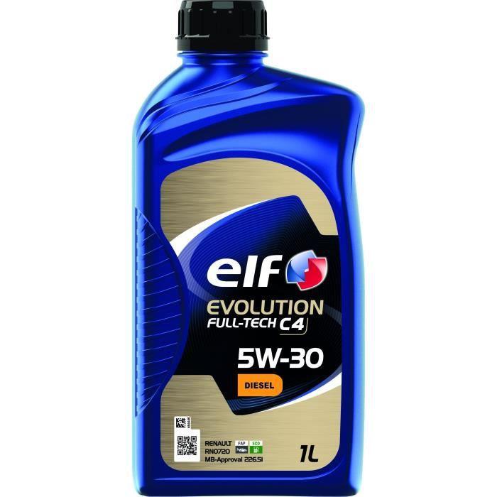 ELF HUILE MOTEUR 1L EVOLUTION FULLTECH C4 5W30