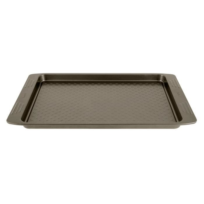 TEFAL EASY GRIP Moule plaque à pâtisserie J1627114 26,5x36 cm marron