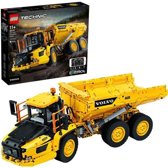 LEGO® Technic 42114 Le tombereau articulé Volvo 6x6
